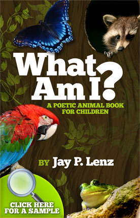 What Am I? book sample by Jay P. Lenz